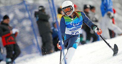La esquiadora Úrsula Pueyo.