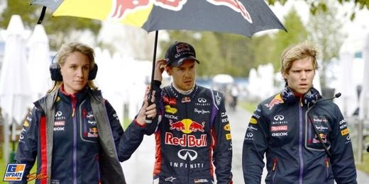 Vettel, muy molesto con el rendimiento de su coche.