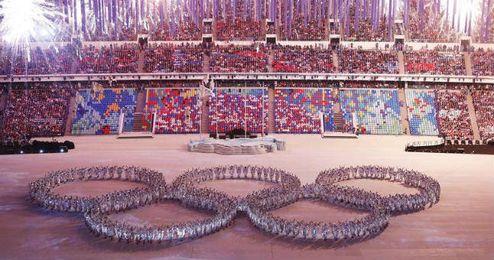 Ceremonia de clausura de los Juegos de invierno de Sochi 2014.