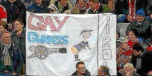 La UEFA sanciona al Bayern por una pancarta homófoba.