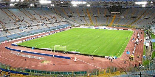 El actual Estadio Olímpico romano que comparten la Roma y la Lazio.