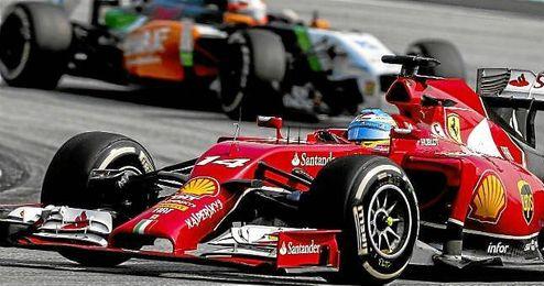 Fernando Alonso, sobre el trazado de Sepang.