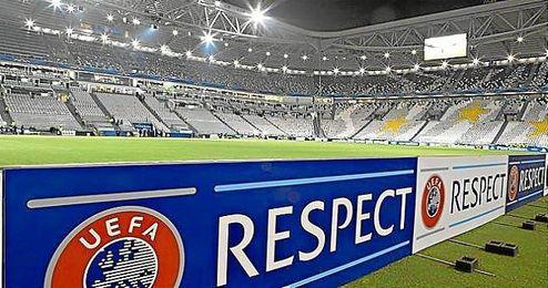 Imagen del Juventus Stadium, donde se jugará la final de la Europa League.
