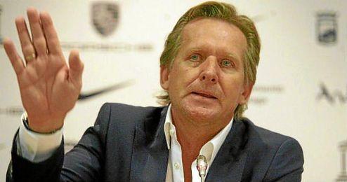 Bernd Schuster, entrenador del Málaga FC.