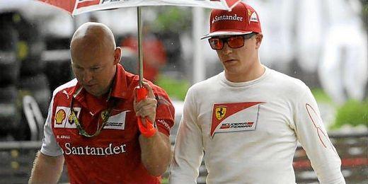 Raikkonen espera acercarse a los Mercedes en carrera.