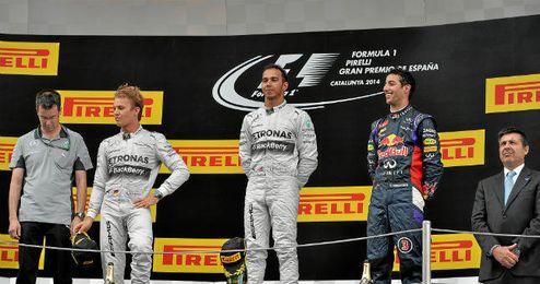 Hamilton se coronó campeón en el Gran Premio de España.