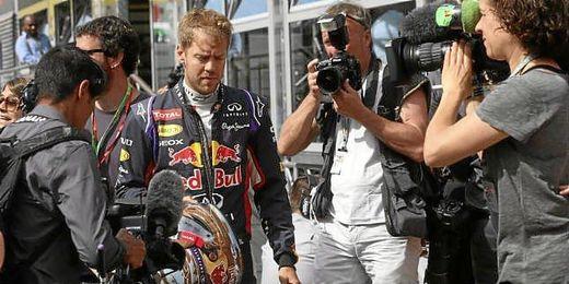 Una vez más, penalizado un Red Bull.