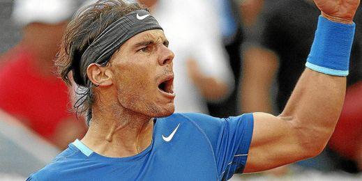 El tenista jugará en Roma.