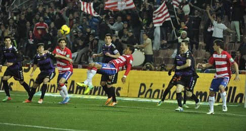 Granada y Valladolid se enfrentan en un duelo directo.