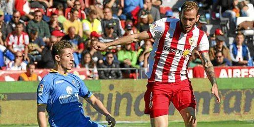 Aleix Vidal durante un partido de liga.