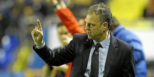 Caparrós ha sido el técnico del Levante durante la última temporada.