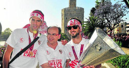 José Castro dirige con tino y ambición a un Sevilla Fútbol Club cuya marca sigue revalorizándose.