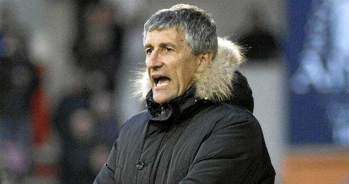 Quique Setién lleva cinco temporadas entrenando al Lugo.