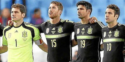 Ya se han hecho oficiales los nuevos dorsales de la selección española para el Mundial de Brasil.