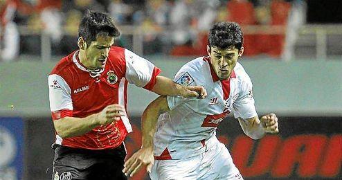 Diego Perotti, en un partido del Sevilla esta temporada.