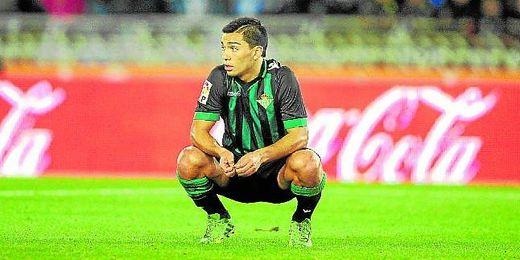 Lolo Reyes, tras una derrota.