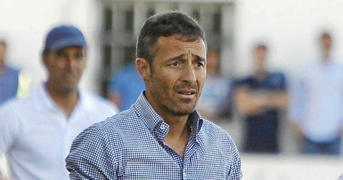 Óscar Cano, en el encuentro ante el UCAM Murcia.