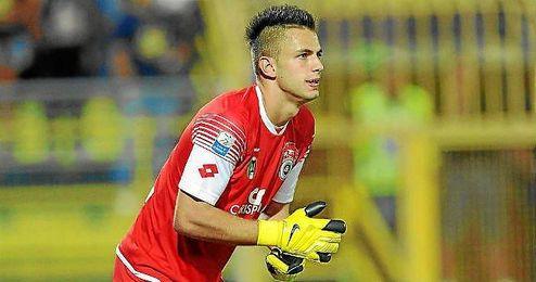 Leali ha defendido la portería del Spezia Calcio esta campaña.