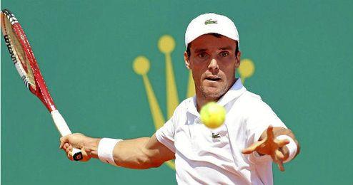 Bautista durante el pasado Roland Garros
