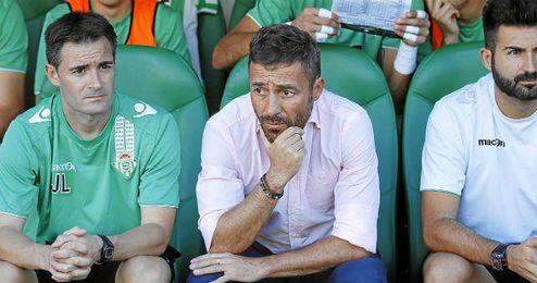 Óscar Cano junto a su segundo Guillermo Fernández