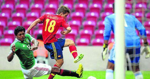 Denis Suárez, en la imagen durante el último Mundial sub 20 con la elástica nacional
