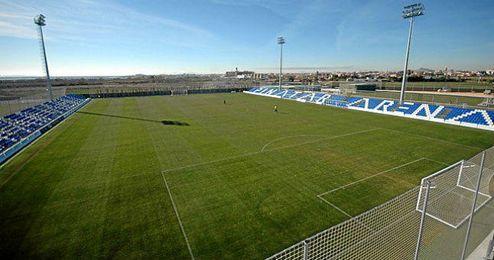 El estadio principal del complejo deportivo.