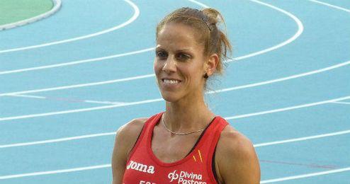 Natalia Rodríguez tras una de sus participaciones internacionales