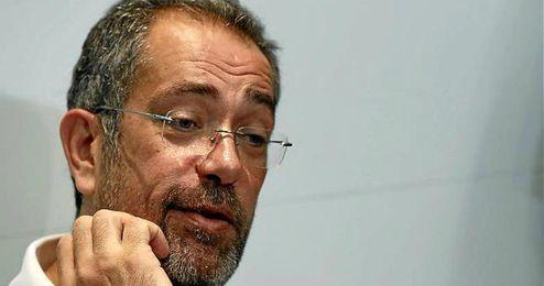 Juan Antonio Orenga en rueda de prensa