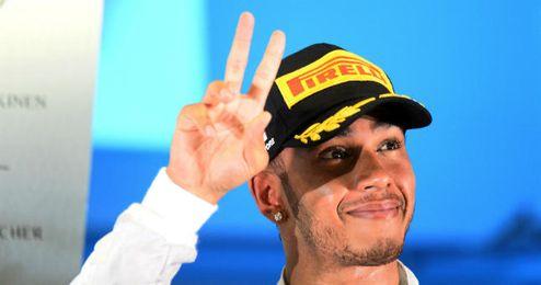 Hamilton venció en el último Gran Premio de Singapur.