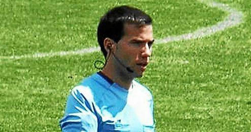 Oliver de la Fuente Ramos, árbitro castellano-leonés.