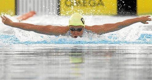 Mireia Belmonte, nadadora española.