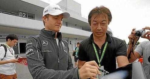 Rosberg se ha hecho con la ´pole´ en el trazado de Suzuka.