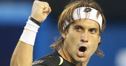 Ferrer vence en octavos por 6-4, 6-7 (4) y 6-4.