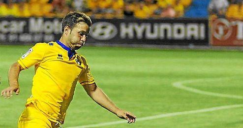 El centrocampista del Alcorcón, Antonio Martínez.
