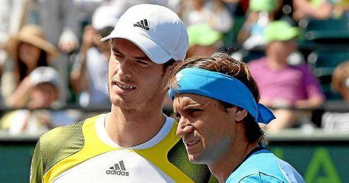 Imagen del último partido entre Murray y Ferrer.