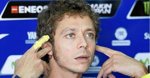Valentino Rossi, tercero en la clasificación general