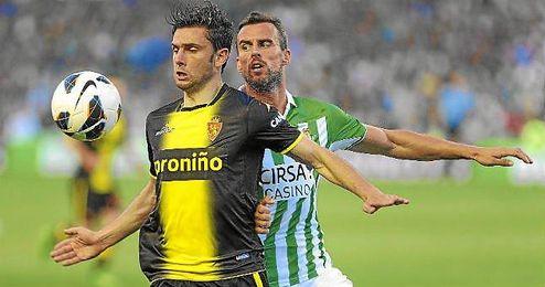 Último enfrentamiento entre Betis y Zaragoza.