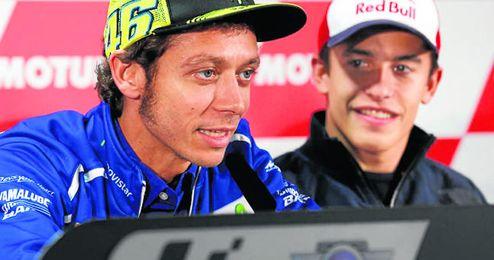 Valentino Rossi, en el Gran Premio de Japón