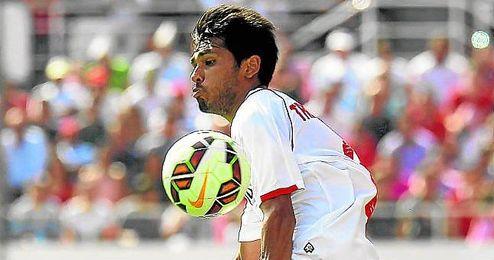 Trémoulinas es un fijo en el lateral zurdo y ha dado dos asistencias de gol.