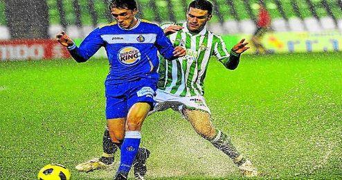El Betis cayó ante el Getafe en el Villamarín en la 2010/2011.