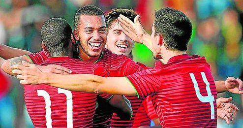 El ojeador nervionense vio hasta nueve goles en el Portugal-Holanda.