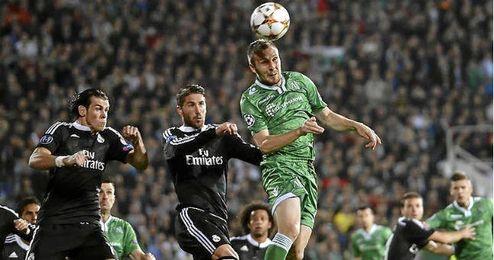 Ramos y Bale en el partido ante el Ludogorets.