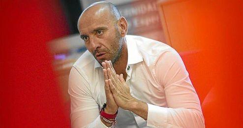 Monchi, durante una entrevista a ESTADIO esta temporada.