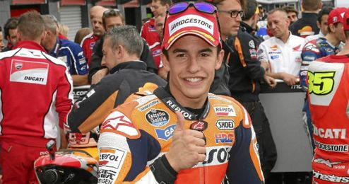 Marc Márquez campeón de MotGP