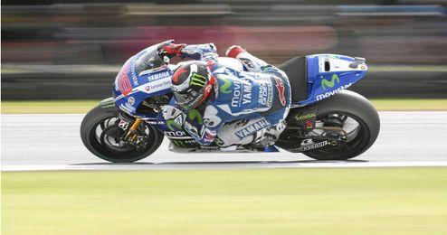 Lorenzo lucha por el subcampeonato de MotoGP.