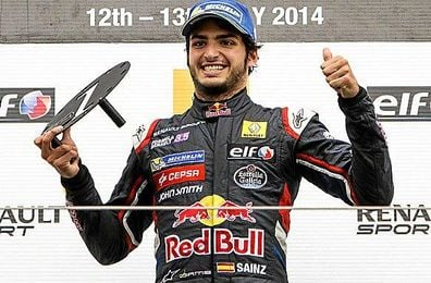 Carlos Sainz Jr. actual campeón de las World Series by Renault.