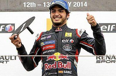 Carlos Sainz Jr. actual campeón de las World Series by Renault.