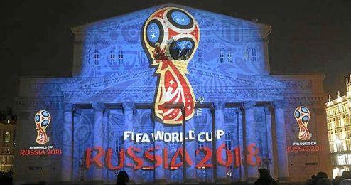 El emblema del Mundial de Rusia 2018.