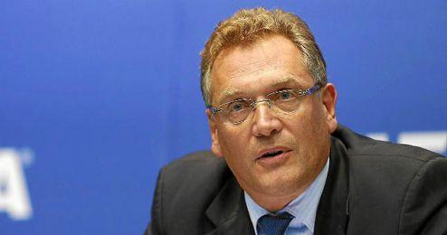 El Secretario General de la FIFA, Jerome Valcke.
