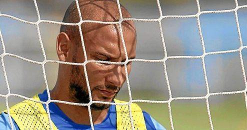 Martins durante un entrenamiento.